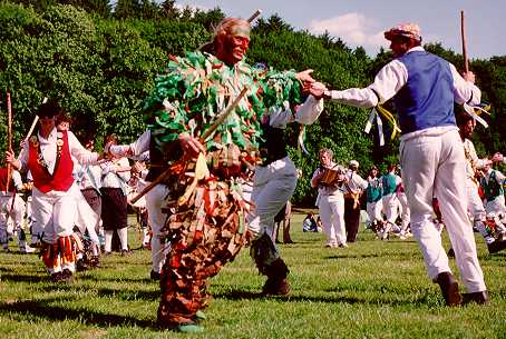 Ted Crane dancing Adderbury Morris